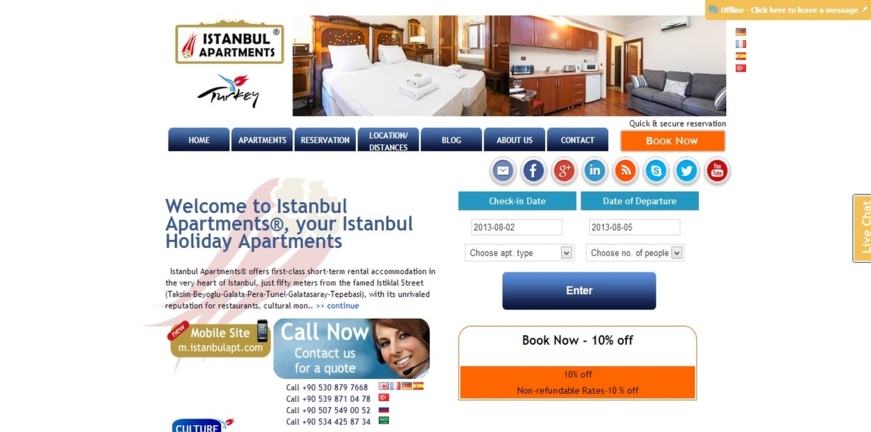 İstanbul Apartments